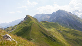 Typical view of the Swiss alps Royalty Free Stock Photography