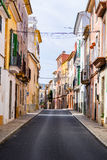 A typical village alley in majorca, soller. (spain Royalty Free Stock Photos