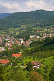 Typical village in the Black Forest Stock Photo