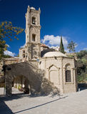 Typical village church in Cyprus. View of a typical church in village in Cyprus royalty free stock images