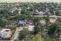 Typical village on Cuba Stock Photo