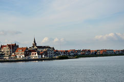 Typical village in Netherlands Royalty Free Stock Photography