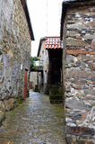 Typical village in Portugal Royalty Free Stock Image
