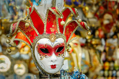 Typical vintage venetian mask, Venice, Italy Stock Photo