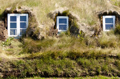 Typical wall in icelandic farm. Royalty Free Stock Image