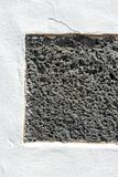 Typical wall made seamless from volcanic stone Royalty Free Stock Photography