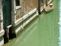 Typical water street, Venice, Italy Stock Image