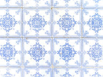 Typical White And Blue Portuguese Ceramic Stock Image
