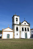 Typical White Colonial Capela de Santa Rita Church Paraty Brazil Royalty Free Stock Photo