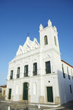 Typical White Colonial Church Northeastern Brazil Royalty Free Stock Photography