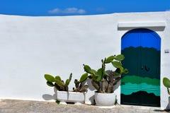Village of Ostuni, Puglia, Italy stock photography