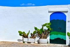 Village of Ostuni, Puglia, Italy royalty free stock photo