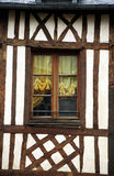 Typical widow in Normandie Royalty Free Stock Photos