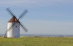 Typical windmill Royalty Free Stock Images