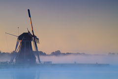 Typical windmill from the Netherlands Royalty Free Stock Photography
