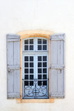 Typical window in Avignon Stock Images