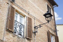 Typical window in Italy Stock Image