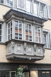 Typical Wood Window Zurich Switzerland Royalty Free Stock Photography