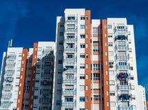 Typicall colorfull huis in de voorstad van Lissabon royalty-vrije stock foto's