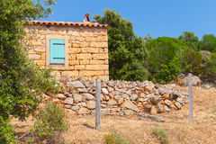 Typically rural landscape of Corsica, France Royalty Free Stock Image