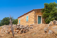Typically rural landscape of South Corsica Royalty Free Stock Images