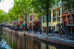 Typicle Άμστερνταμ Στοκ Φωτογραφίες