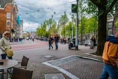 Typicle Άμστερνταμ Στοκ φωτογραφία με δικαίωμα ελεύθερης χρήσης