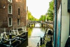 Typicle Άμστερνταμ Στοκ φωτογραφίες με δικαίωμα ελεύθερης χρήσης
