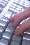 Typing Royalty Free Stock Image