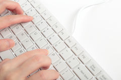 Typing Stock Image
