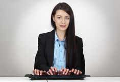 Typing fast Stock Images