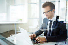 Typing Stock Photography