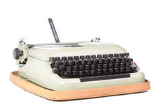 Typing machine Royalty Free Stock Photos