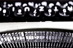 Typing machine abstract Stock Photography