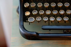 Typing machine Royalty Free Stock Images