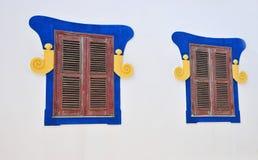 typique de Lagos de maison vieux Image stock