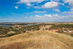 Typisch Alentejo landschap Stock Foto's