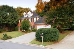 Typisch Amerikaans huis Stock Foto