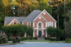 Typisch Amerikaans huis Royalty-vrije Stock Foto's