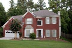 Typisch Amerikaans huis Stock Foto's