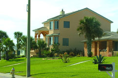 Typisch Amerikaans huis royalty-vrije stock afbeelding