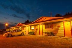 Typisch Amerikaans Motel royalty-vrije stock foto's