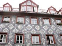 Typisch Beiers huis, Furth, Duitsland royalty-vrije stock fotografie