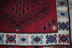 Typisch Bosnisch tapijt Royalty-vrije Stock Afbeeldingen