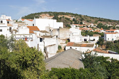 Typisch dorp in Portugal, Europa Stock Foto's
