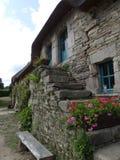 Typisch dorp van Brittany France Royalty-vrije Stock Afbeelding