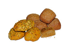 Typisch Duits brood - sluit omhoog - foto Royalty-vrije Stock Foto
