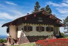 Typisch Duits Huis Gramado Brazilië Stock Afbeelding