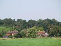 Typisch Engels dorp, Bodiam, Oost-Sussex, het UK stock afbeelding