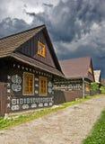 Typisch huis Royalty-vrije Stock Fotografie